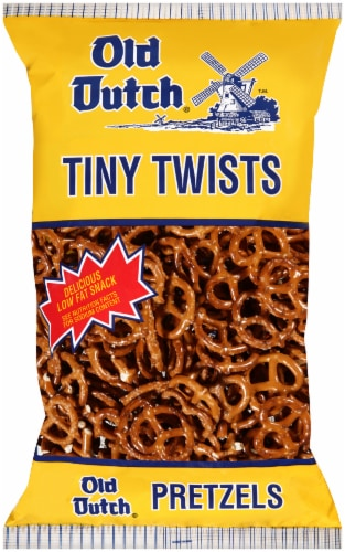 Old Dutch Tiny Twists Pretzels Perspective: front