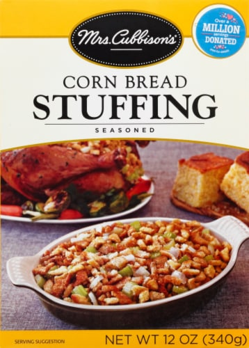 Mrs. Cubbison's Seasoned Corn Bread Stuffing Perspective: front