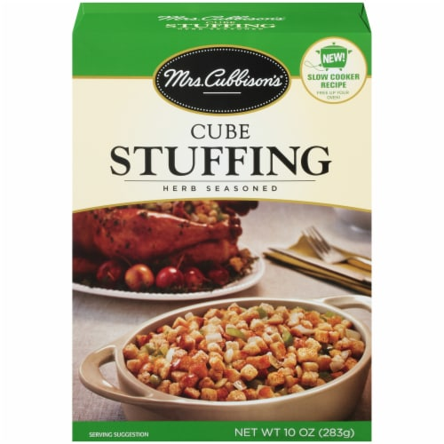 Mrs. Cubbison's Herb Seasoned Cube Stuffing Perspective: front