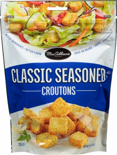 Mrs. Cubbison's Classic Seasoned Croutons Perspective: front