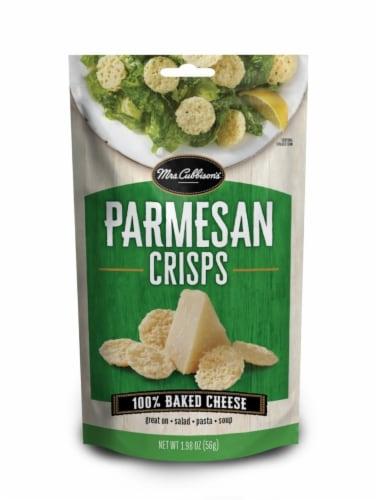 Mrs. Cubbison's Parmesan Crisps Perspective: front