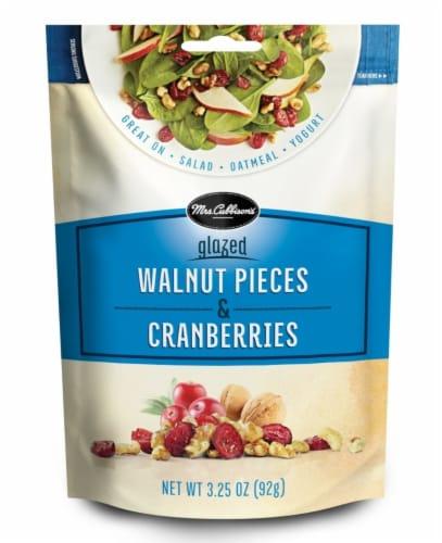 Mrs. Cubbisons Glazed Walnut Pieces & Cranberries Perspective: front