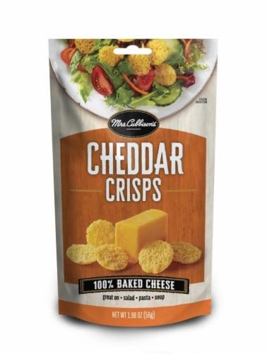 Mrs. Cubbison's Cheddar Crisps Perspective: front