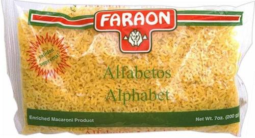Faraon Alphabet Macaroni Perspective: front