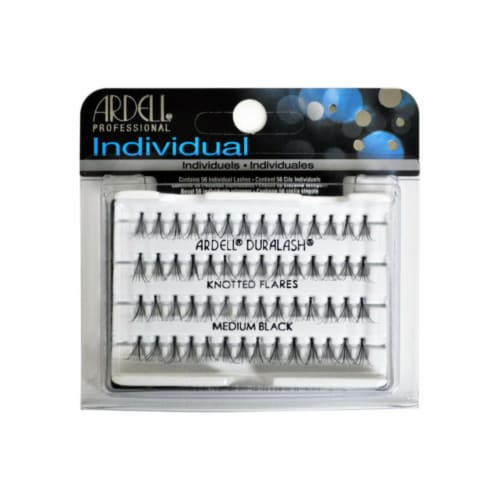 Ardell Duralash Flair Medium Black Lashes Perspective: front