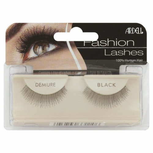 Ardell Fashion Lashes Demure Black Lashes Perspective: front