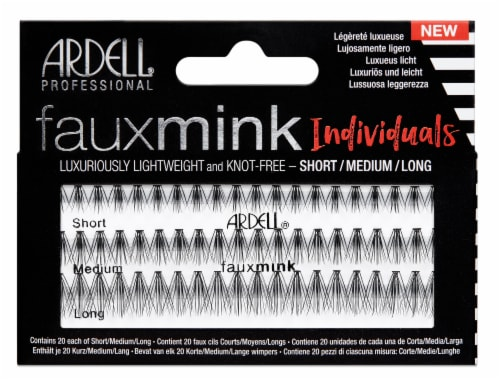 Ardell Faux Mink Combo Eye Lashes Perspective: front