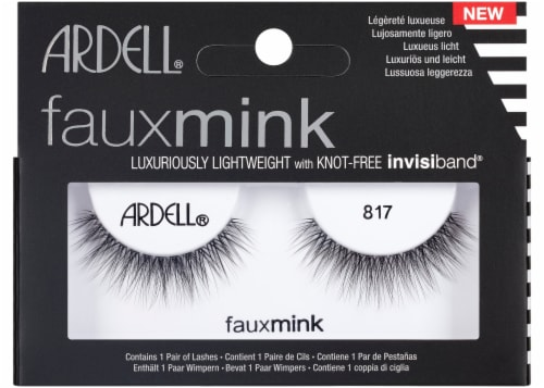 Ardell Faux Mink 817 False Eyelashes Perspective: front