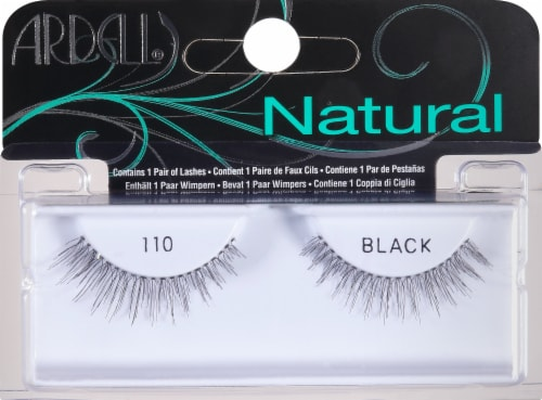 Ardell 110 Black Fashion Lashes Perspective: front