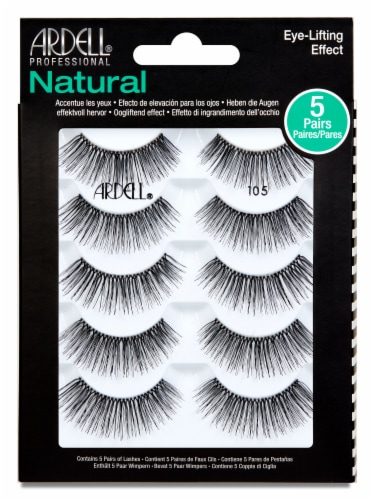 Ardell Natural 105 Lashes Perspective: front