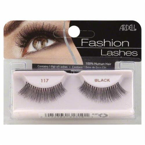 Ardell 117 Black Fashion Lashes Perspective: front