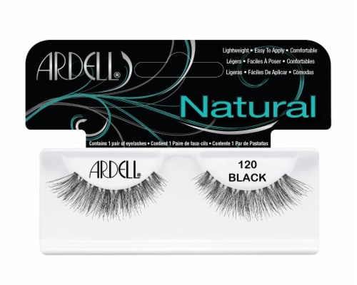 Ardell 120 Black Fashion Lashes Perspective: front