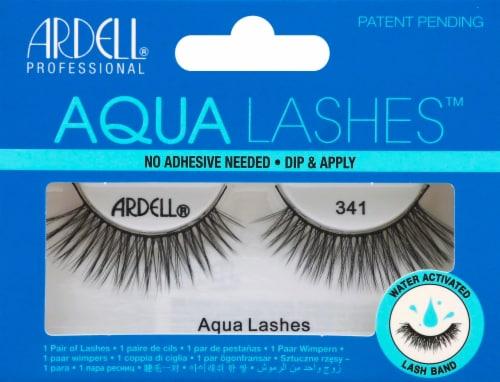 Ardell 341 Aqua False Lashes Perspective: front