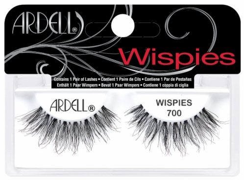 Ardell Wispies 700 False Lashes Perspective: front
