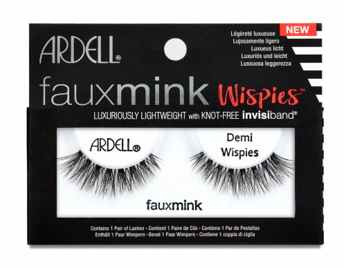 Ardell Fauxmink Demi Wispies False Eyelashes Perspective: front