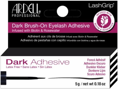 Ardell LashGrip Dark Brush-On Eyelash Adhesive with Biotin Perspective: front