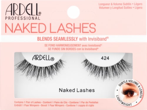 Ardell 424 Naked Lashes Perspective: front