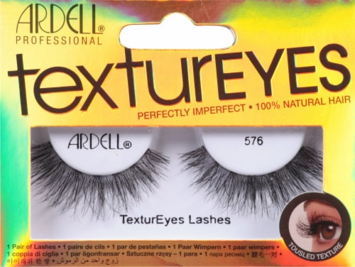 Ardell 576 TexturEyes False Lashes Perspective: front