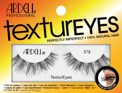 Ardell 578 TexturEyes False Lashes Perspective: front