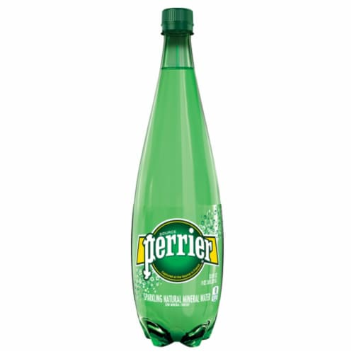 Perrier Sparkling Natural Mineral Water Perspective: front