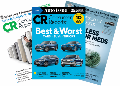 Consumer Reports Magazine Perspective: front