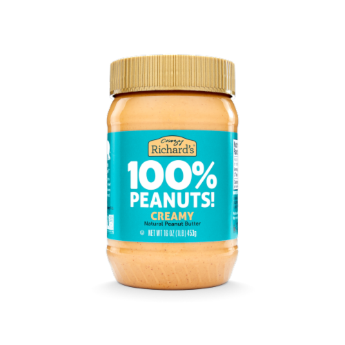 Crazy Richard's Creamy Peanut Butter Perspective: front