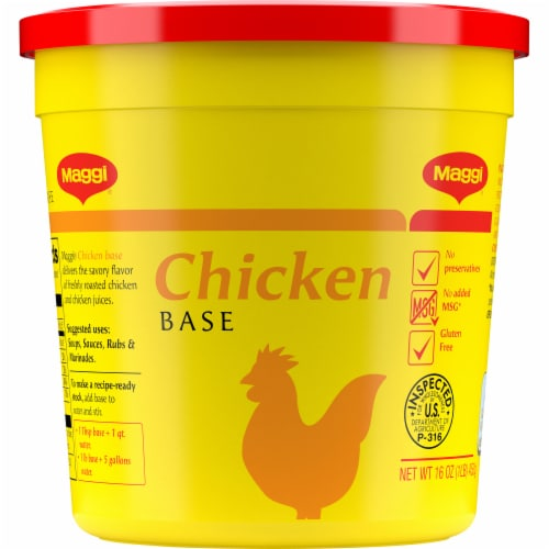 Maggi Chicken Base Perspective: front