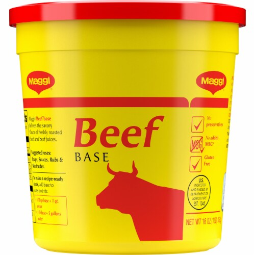 Maggi Beef Base Perspective: front