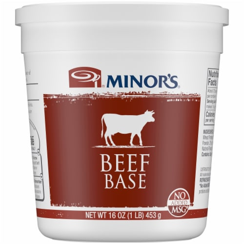 Minor's Beef Base Perspective: front
