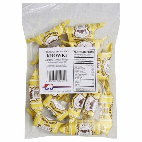 Eagle Distributors Krowki Luxury Cream Fudge Perspective: front