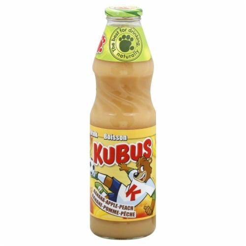 Kubus Banana Apple Peach Juice Perspective: front
