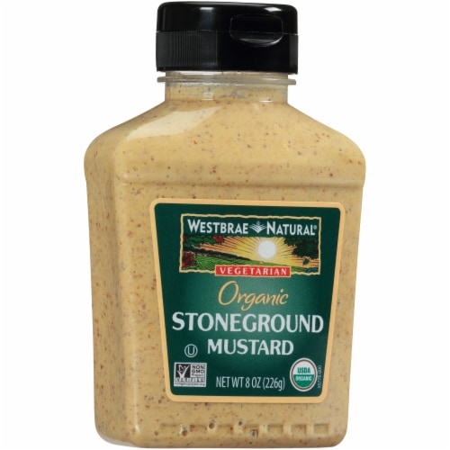 Westbrae Natural Organic Stoneground Mustard Perspective: front