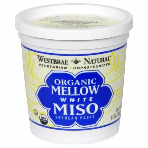 Westbrae Natural Organic Mellow White Miso Soybean Paste Perspective: front
