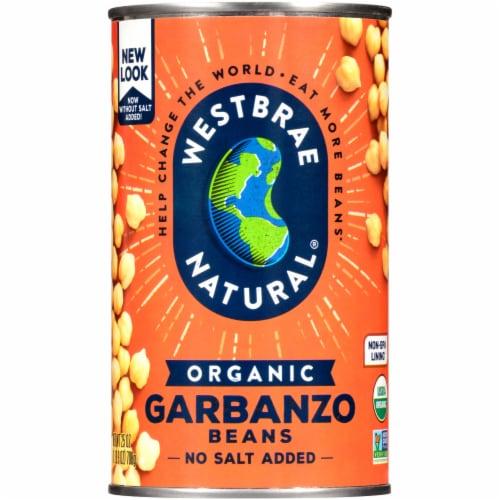 Westbrae Natural Organic Garbanzo Beans Perspective: front