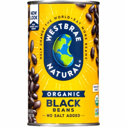 Westbrae Natural Organic Black Beans Perspective: front