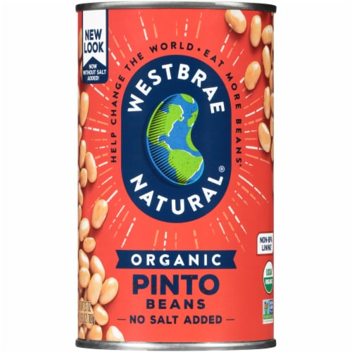 Westbrae Natural Organic Pinto Beans Perspective: front