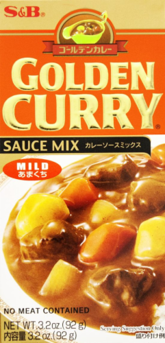 S&B Golden Curry Sauce Mix Mild Perspective: front