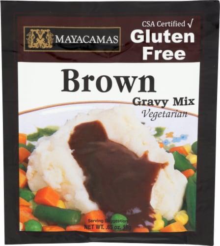 Mayacamas Organic Brown Gravy Mix Perspective: front