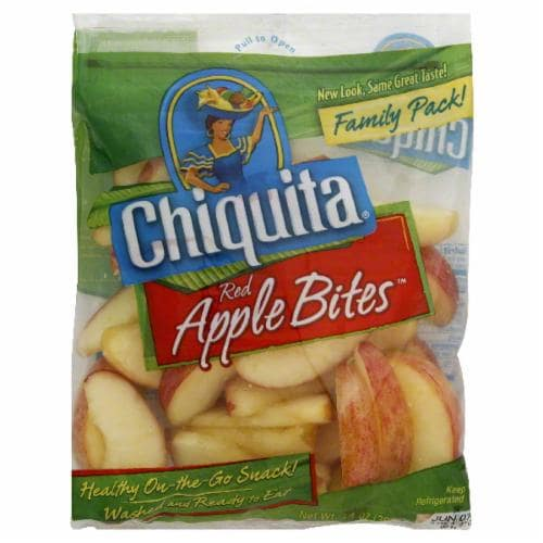Chiquita Red Apple Bites Family Pack Perspective: front