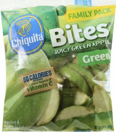 Chiquita Bites Juicy Green Apple Slices Perspective: front