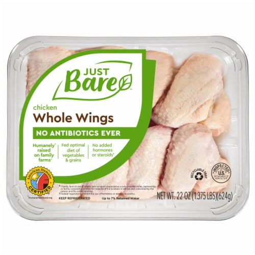 Just Bare Chicken Wingettes & Drummettes Perspective: front