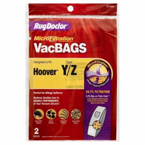 Hoover Microfiltration Vacuum Bags