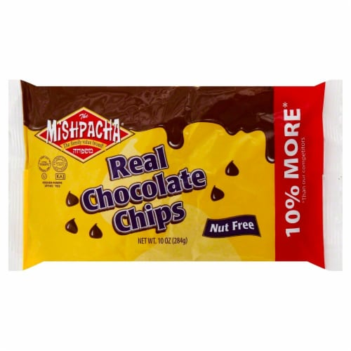 Mishpacha Chocolate Chips Nondairy Perspective: front