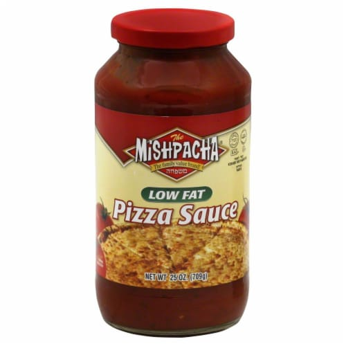 Mishpacha Low Fat Pizza Sauce Perspective: front