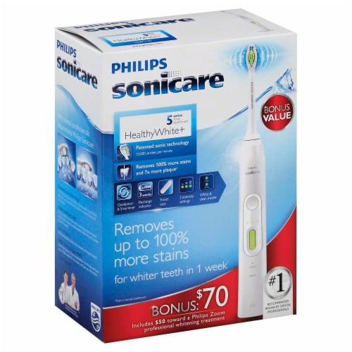 Philips Sonicare HealthyWhite+ 5 Series Sonic Toothbrush Perspective: front