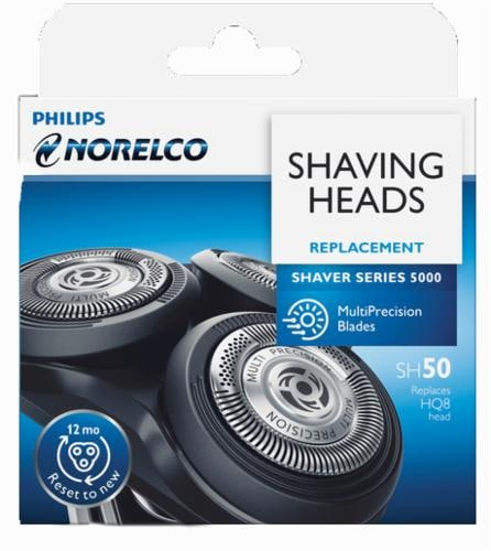 Philips Norelco Replacement Shaving Heads For Series 5000 Shaver Perspective: front