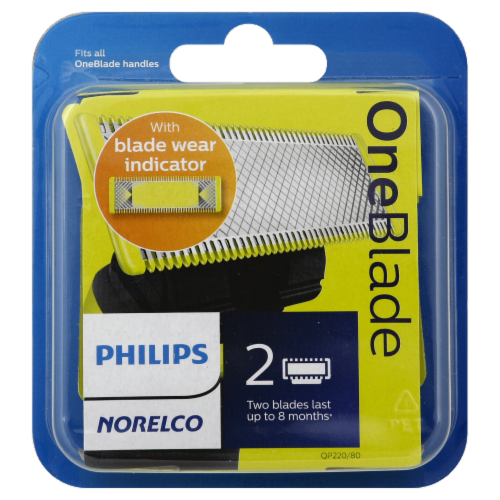 Philips Norelco OneBlade Replacement Blades Perspective: front