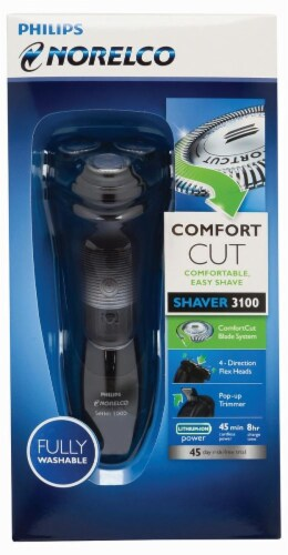 Philips Norelco 3100 Comfort Cut Shaver Perspective: front