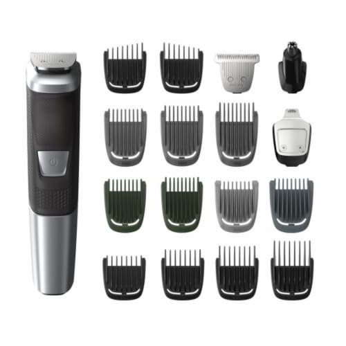 Phillips Norelco Multigroom 5000 All-in-One Trimmer Grooming Set Perspective: front