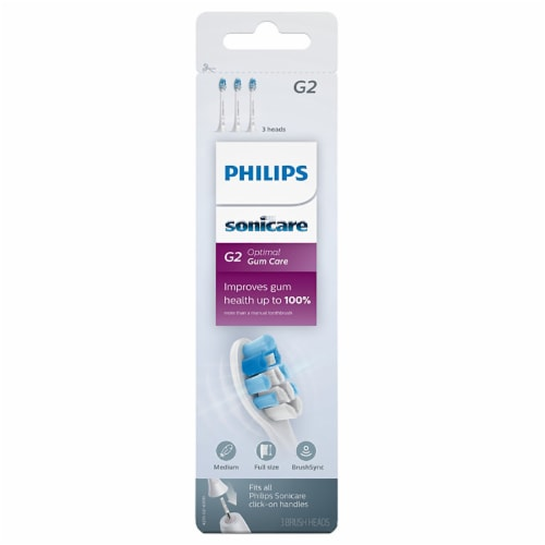 Philips Sonicare G2 Optimal Gum Care Brush Heads Perspective: front